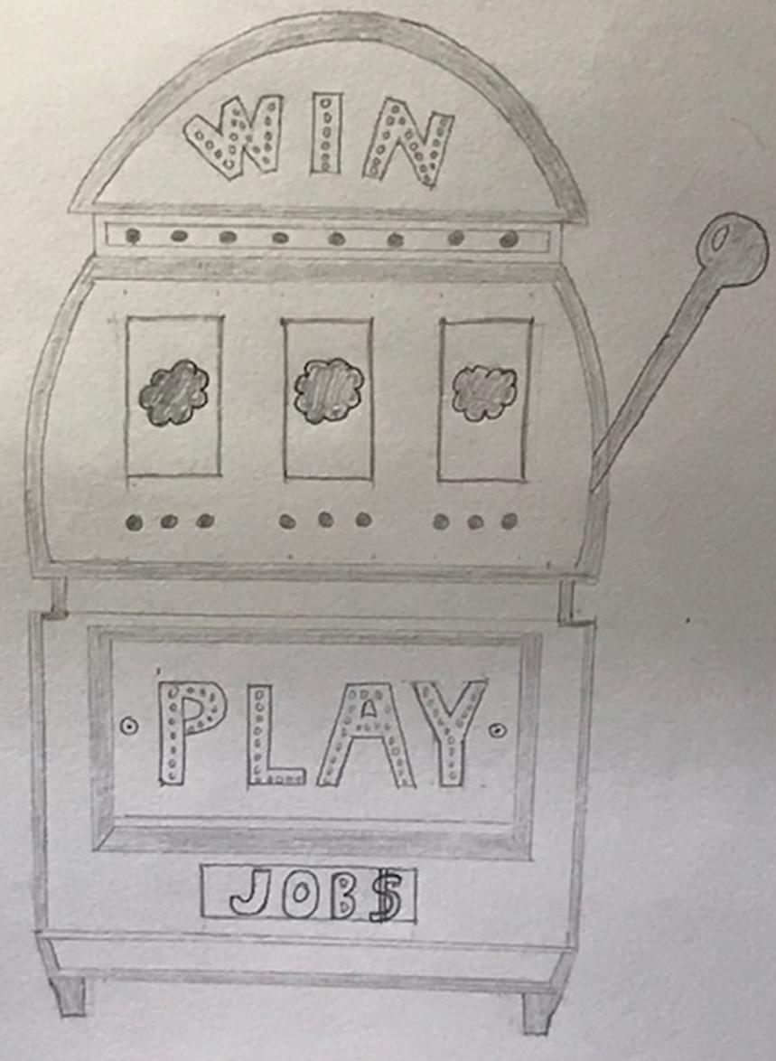 Salesforce Career Seekers: Slot Machine Analogy